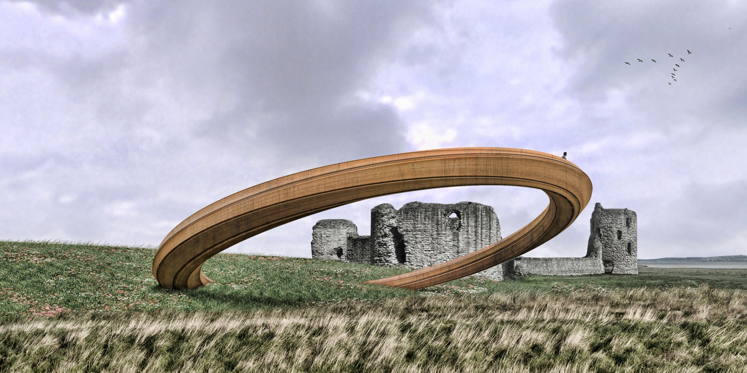 Sculpture for Flint Castle