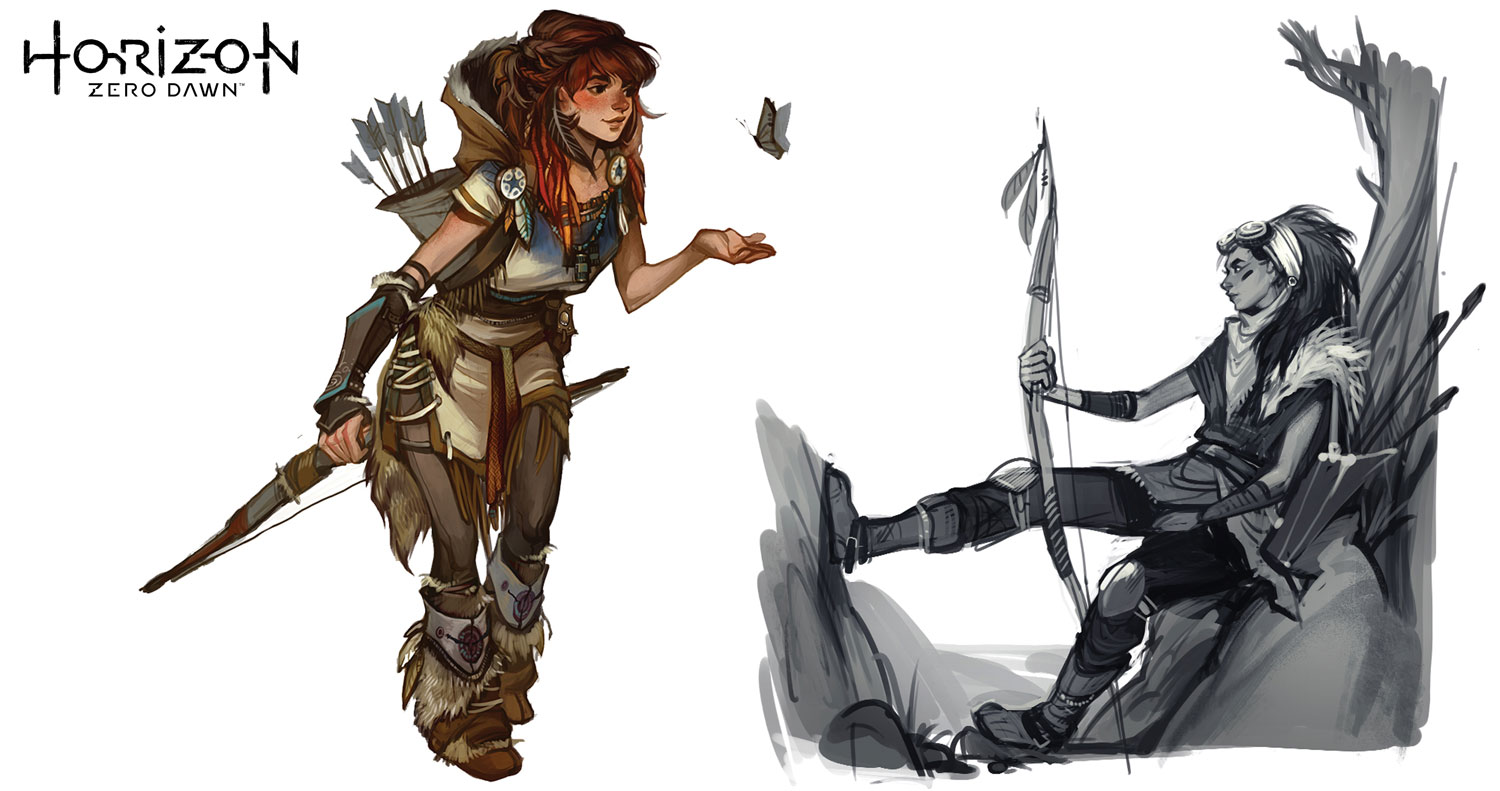 Aloy pose design