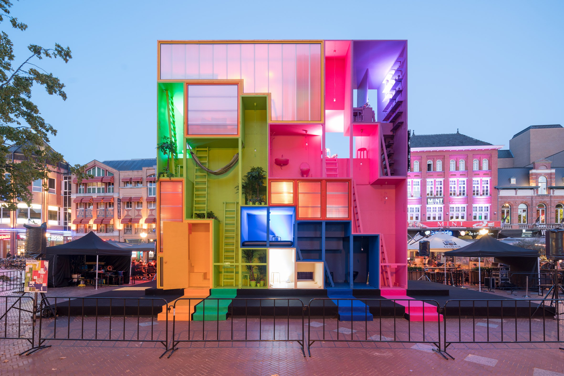 MVRDV presents a hotel you can reconfigure at Dutch Design Week
