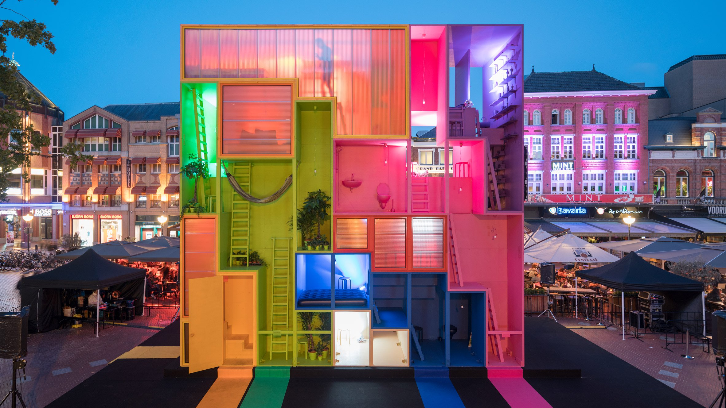 MVRDV presents a hotel you can reconfigure at Dutch Design Week