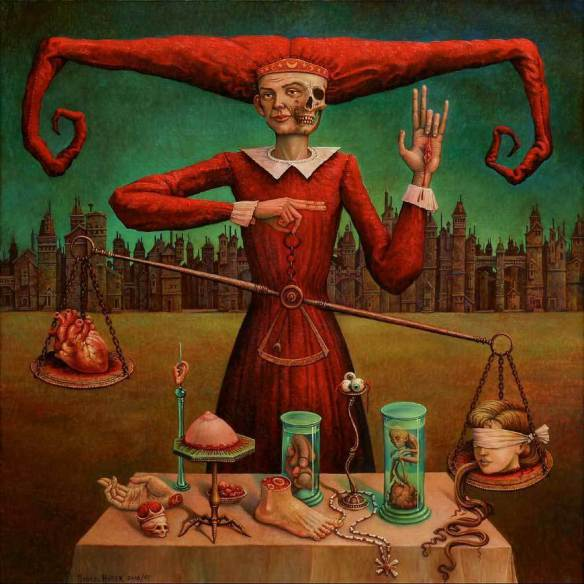 Painting by Michael Hutter