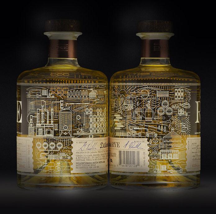 Dillons ArtistRealm Rye Whisky Blending Dark