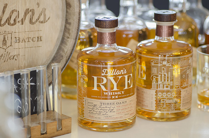 Dillons ArtistRealm Rye Whisky Blending Bottle